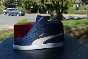 Puma Classic Suede Mid Navy NDS US Mens 8
