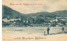 AK aus St.Nikola an der Donau, Oberösterreich (13)  (13)  (R13)