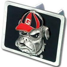 Georgia Bulldogs Rectangle Logo Trailer Hitch Cover ~ New