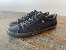 Original Penguin QUEST Blue Leather Suede Sneaker Shoes US Size 10 FREE SHIPPING