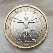 ◽▫️1 Euro Münze▫️◽ _Italien_2002_           ◽▫️Fehlprägung !▫️◽