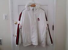 West Side Sports Wear Hooded Jacket Coat Size 2XL Fluffy Los Angeles