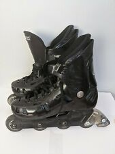 Roces Black Inline Skates Men's Size US 12 Made in Italy lite frame