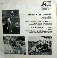 "OST TORNA A SETTEMBRE  7"" ITALY 1961 BOBBY DARIN (COME SEPTEMBER) LOLLOBRIGIDA"