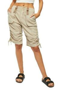 Free People Cassidy Calm Sand Cargo Short Size 4