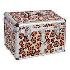 Cosmetic/Jewelry Train Case Leopard Print