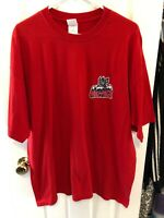Hartford Wolf Pack Red Shirt 2XL Double Extra Large New York Rangers Wolfpack