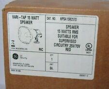 GE Security HPSA15R2570 25/70V 15 Watt Red Fire Speaker [CTNO]