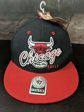 91eab8fea2815 Chicago Bulls 47 Brand Hardwood Classics Snapback Hat Cap NBA Windy City New