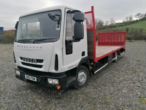 IVECO EUROCARGO BEAVERTAIL WITH WINCH 10 TONNE 2012