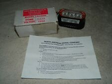 12/24 V Clear, Surface Mount HIGH POWER LED Warning Light NORTH AMERICAN SIGNAL