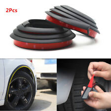 2x 57'' Rubber Scratch Proof Fender Wheel Eyebrow Trim Protector Lip Antirub Pad