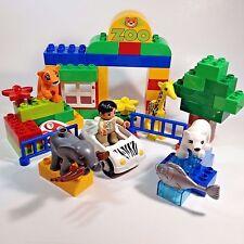 LEGO DUPLO My First Zoo Set 6136 Retired Elephant Giraffe Polar Bear Tiger