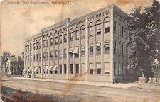 Ohio Postcard 1912 LANCASTER Fairfield SHOE FACTORY Antique Mall Now