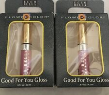 ( Two) Ecco Bella Botanicals Good For You Lipgloss Mini Peace