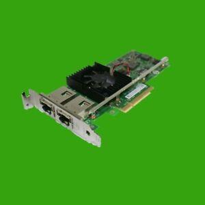 Intel DELL Dual Port Gigabit Netzwerkkarte 03DFV8 low Profile 10 GbE LAN 3DFV8