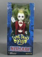 "Mezco Living Dead Dolls Presents: Beetle Juice 12"" Action Figure 1066W"