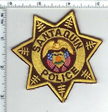 Santaquin Police (Utah) Shirt/Jacket Patch from the 1980's