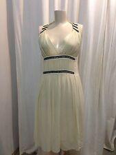 Marc Jacobs Silk And Diamanté Sleeveless Dress. Size 8