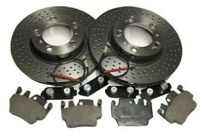 Porsche Boxster 986 3.2S Front brake kit / package (Brembo discs and pads)