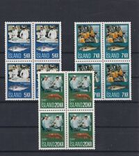 Iceland 1971 Fishing Industry V/Fine MNH Block of 4 Scarce Classic Set