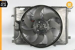 08-18 Mercedes W207 E350 C300 Engine Radiator Cooling Fan Motor Assembly OEM