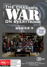 Chaser's War on Everything Series 3 New Pal 2-Dvd Set