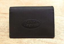 Land Rover logo Black Leather credit card size, driving licence holder vs933
