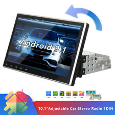 """New listing Single 1 Din 10.1"""" Car Stereo Fm Usb Mp5 Player Touch Screen Radio Bt In-Dash"""