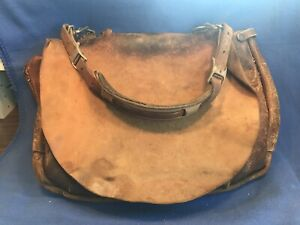 Vintage 1969 U.S.P.S. Mail Postal Carrier Leather Messenger Bag