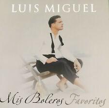 """LUIS MIGUEL """" Mis Boleros Favoritas"""" CD"""
