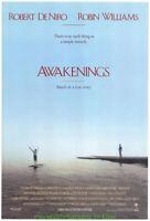 AWAKENINGS MOVIE POSTER DS ROBERT DE NIRO ROBIN WILLIAMS 1990 OLIVER SACKS BOOK