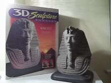 KING TUT 3-D 3D SCULPTURE LAYER PUZZLE USED IN BOX Milton Bradley 1995