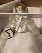 Ashton Drake Happily Ever After Doll Bride Wedding Dress Cindy McClure w/shipper