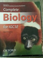 Complete Biology for IGCSE by Pickering, Ron [Oxford University Press, 2006