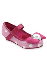 Disney Minnie Mouse Costume Shoes for Kids – Pink Size 7/8