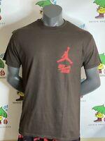 "Cactus Jack x Jordan Travis Scott ""Highest"" T-Shirt Multiple Sizes in hand"