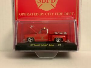 "M2 Machines ""Fire Chief"" '76 Chevy Scottsdale Custom 1 Of 8,250 Worldwide Read"