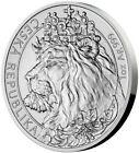 2021 1 Oz Silver $2 Niue CZECH LION BU Coin.
