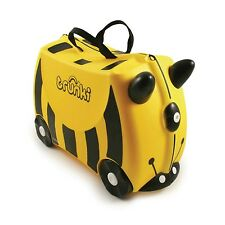 Suitcase Luggage Travel Bag Holiday Kids Ride On Trunki Yellow Pull Child Case