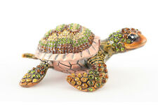 Turtle Jewelry Trinket Box Decoration Collectible Animal Sea Gift 02053