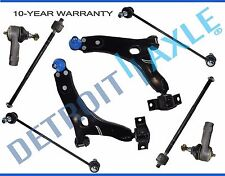 2006 2007 Ford Focus New 8pc Front Lower Control Arm Set & Suspension Kit