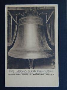 Ansichtskarte Erfurt, Gloriosa, ungelaufen, 1922