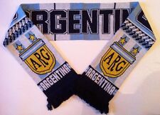 Argentina Football Scarve NEW made with luxury Acrylic Yarns