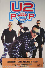 U2 Third Eye Blind 1997 Pop Tour Rare Original Concert Promo Poster