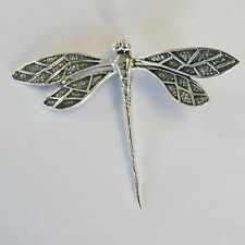 Pendant Dragonfly Thai 925 Sterling Silver