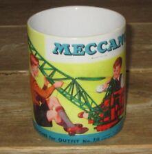 Meccano Crane Advertising MUG