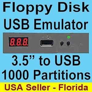 USB to Floppy Disk Drive Emulator Yamaha Clavinova CPV PSR 540 640 730 740 ELX-1