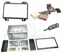 Ford Fiesta Mk6 2002-2005 double din stereo facia fitting kit inc ISO connector