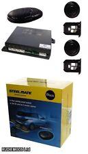 Steelmate PTS400EX 4 VIE LUCIDA NERA parcheggio sensori di retromarcia